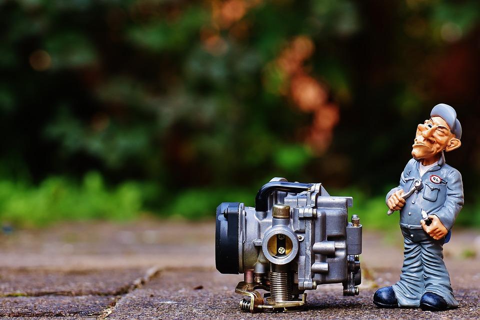 Mechanic, Screwdrivers, Carburetor, Fig, Wrench, Funny