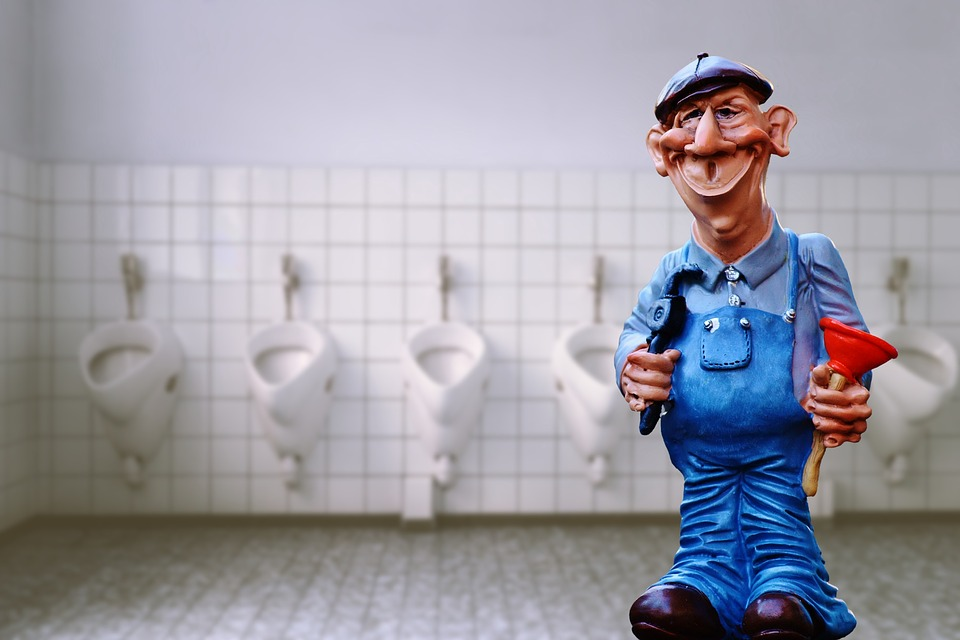 Free photo Funny Figure Pömpel Plumber Cute Sanitary Loo - Max Pixel