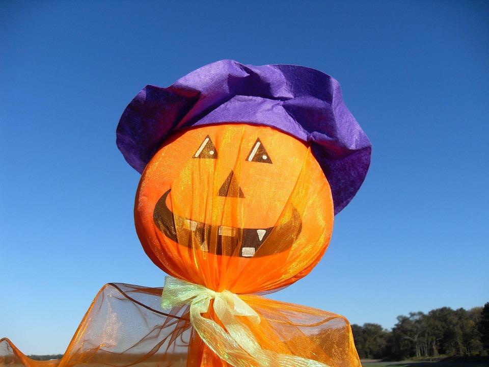 Ornament, Pumpkin, Funny, Halloween, Holidays