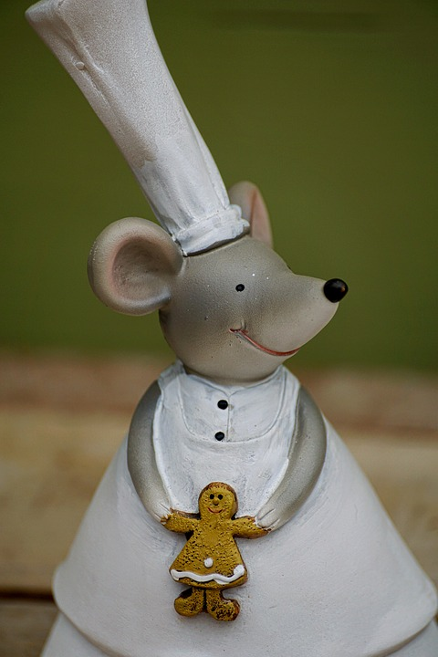 Decoration, Mice, Funny, Sugar Bakery, Cute, Mouse