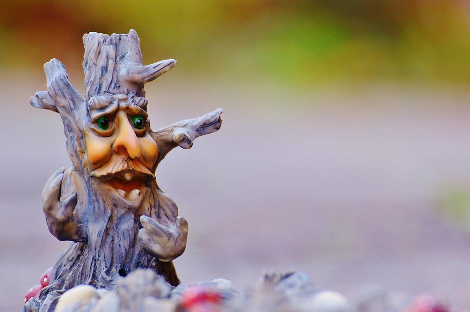 Tree, Face, Mystical, Funny, Tree Stump, Creepy, Weird