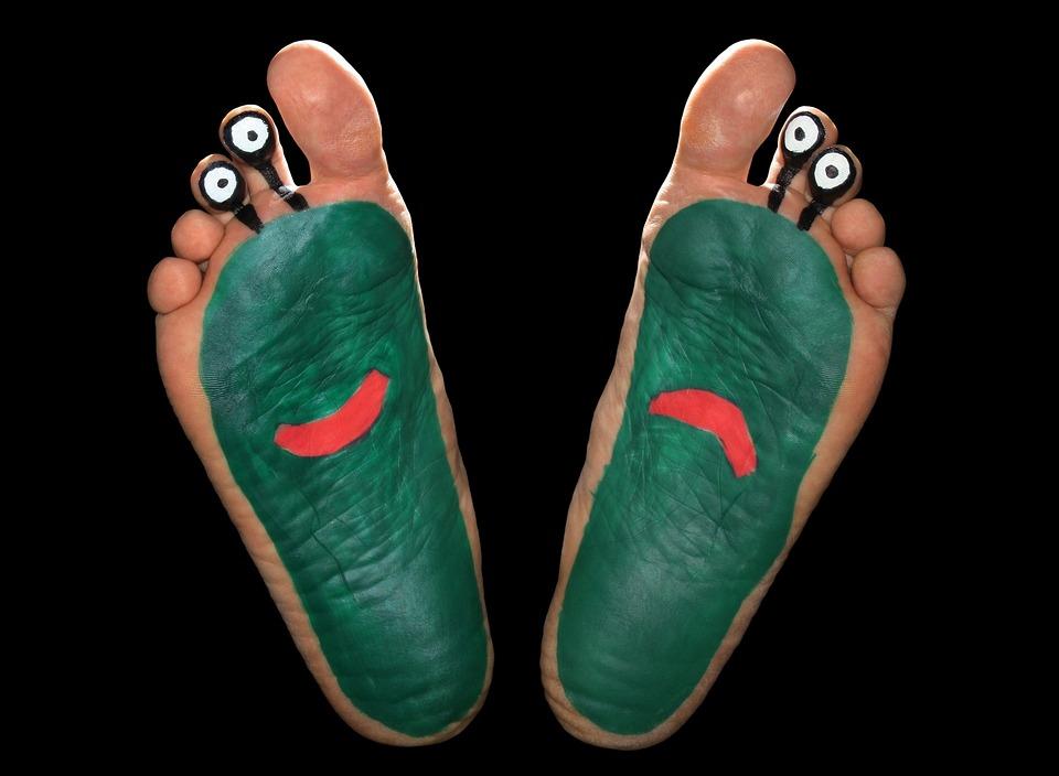 Alien, Feet, Foot, Fun, Funny, Sole, Painted, Ten