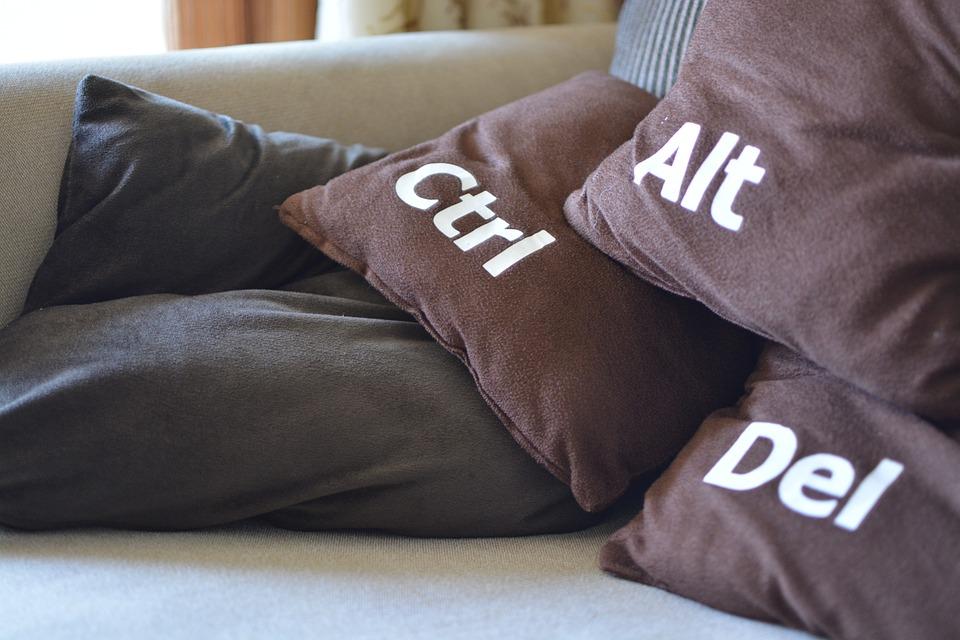 Restart, Cushions, Funny, Ctrl-alt-del, Shut Down