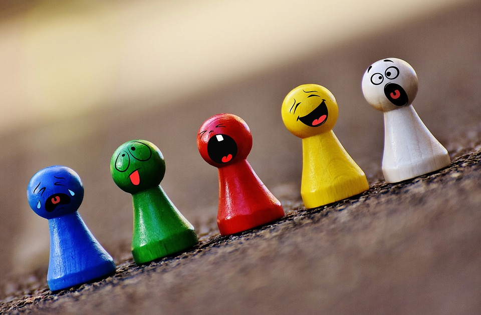 Play Stone, Colorful, Smilies, Funny, Faces, Figures