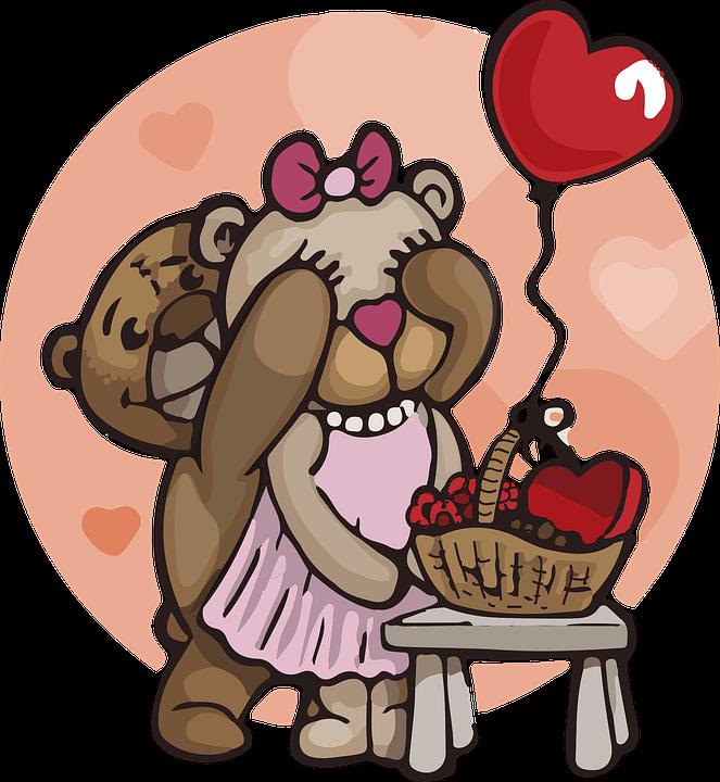 Teddy Bear, Love, Bears, Cute, Fluffy, Fur, Plush