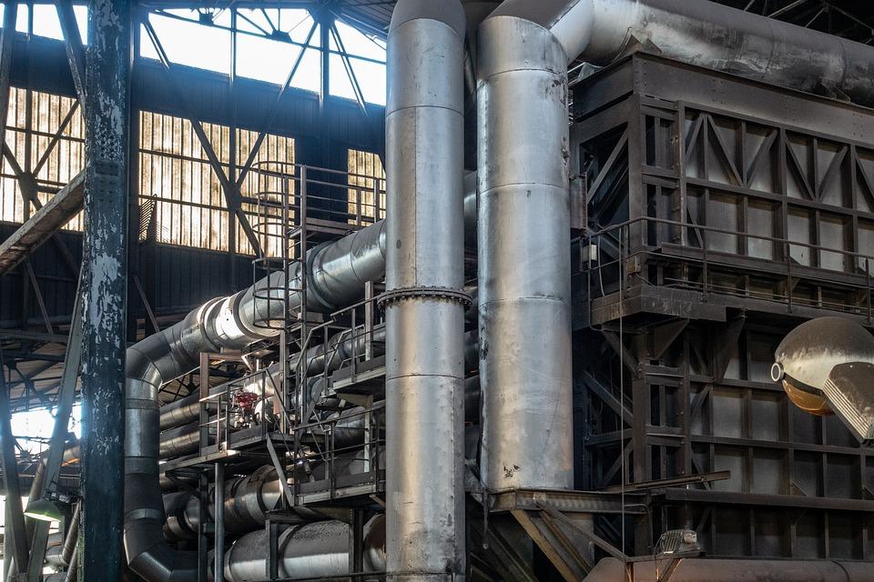 Furnace, Steel, Industry, Pipe, Industrial, Mill, Plant
