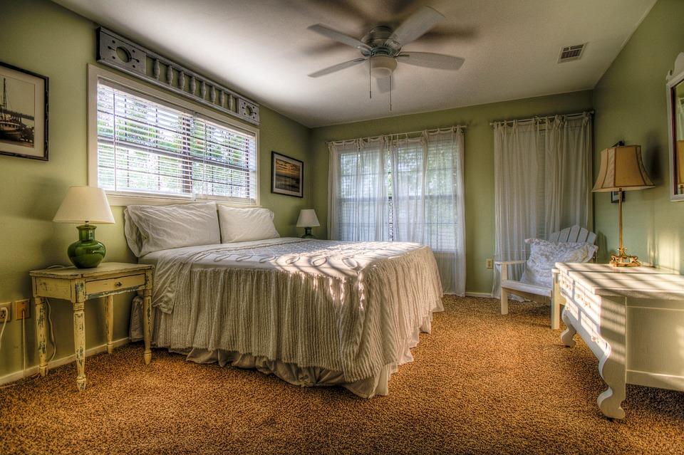 Bedroom, Sleeping Room, Bed, Furniture, Room, House