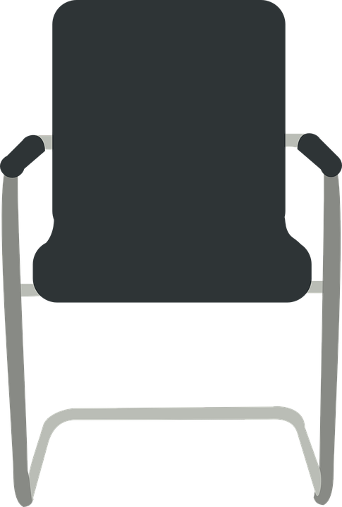 Chair, Black, Furniture, Office