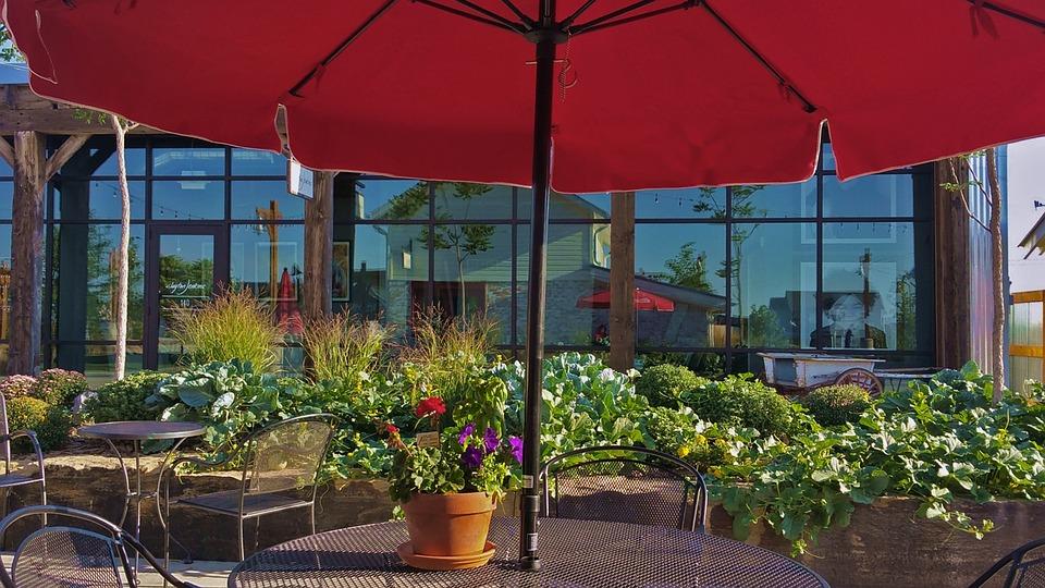 Patio, Table, Furniture, Summer, Garden, Outdoor