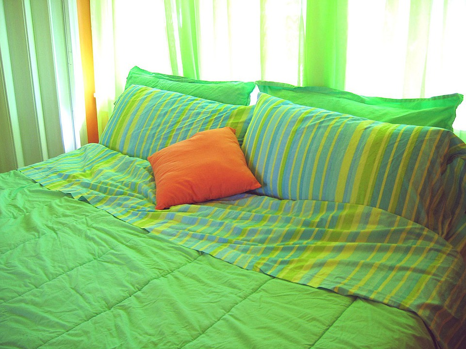 Decor, Room, Bedroom, Home, Furniture, Living
