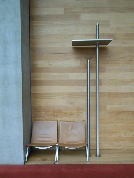 Furniture Institutional, Reading, Armchair, Luminaire