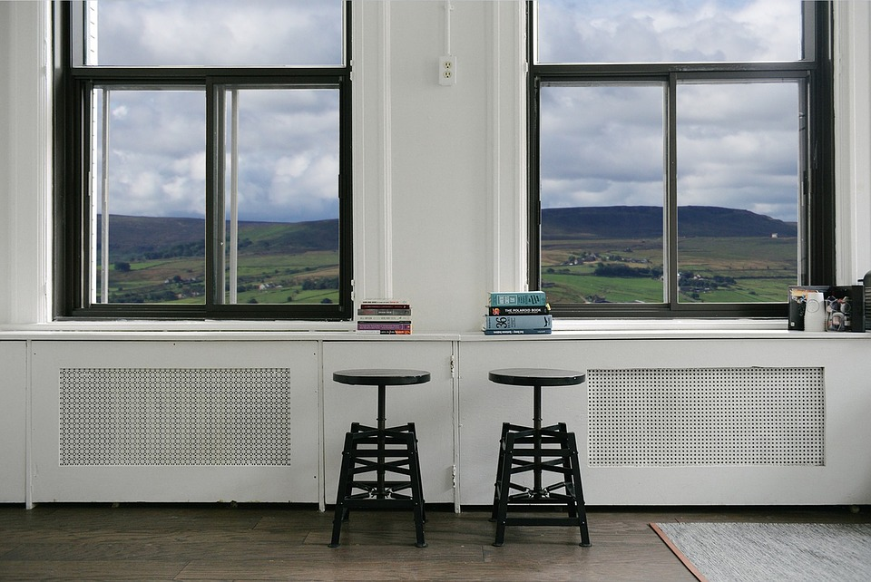Stools, Furniture, Windows, Landscape, Countryside