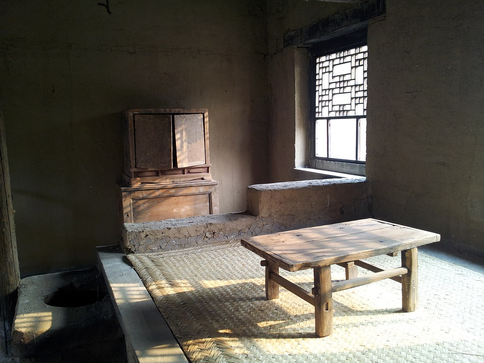 Village, Room, Furniture, Table, Old, Historic, China