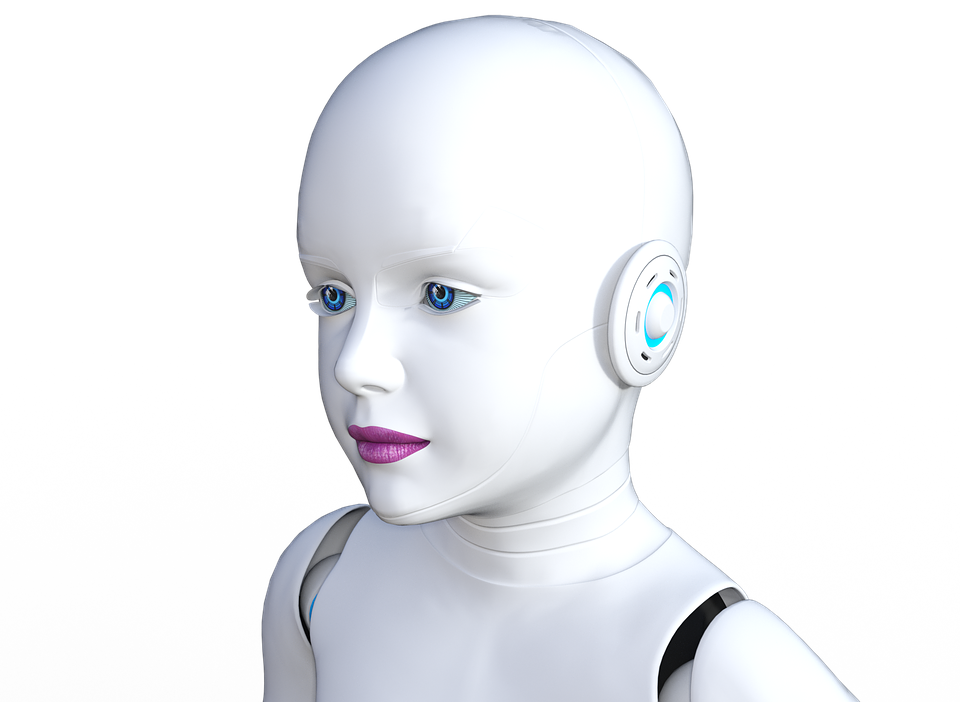 Robot, Girl, Modern, Future, Machine, Woman, Cyborg