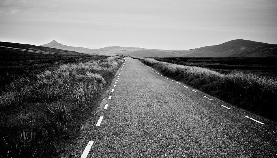 Road, Long, Straight, Future, Landscape, Travel, Rural