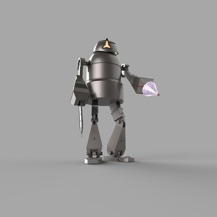 Robot, Future, Modern, Technology, Science Fiction