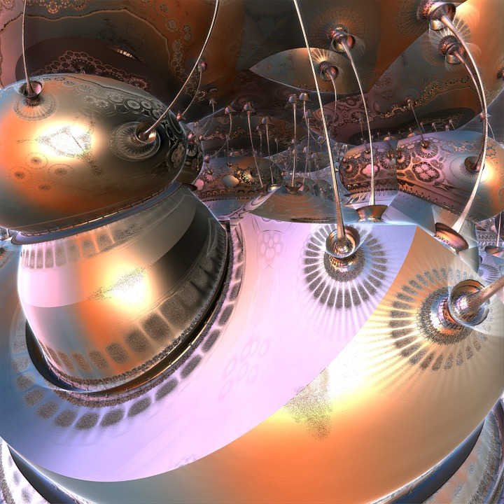 Futuristic, Space, Design, Concept, Technology, Digital