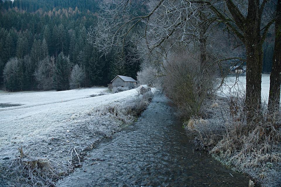 Rime, Austria, Alps, Tributary, Gail, Goderschach