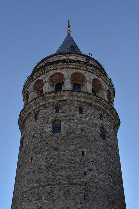 Galata Tower, Tower, Turkey, Monument, Building