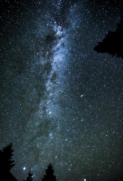 Astronomy, Galaxy, Milky Way, Space, Darkness