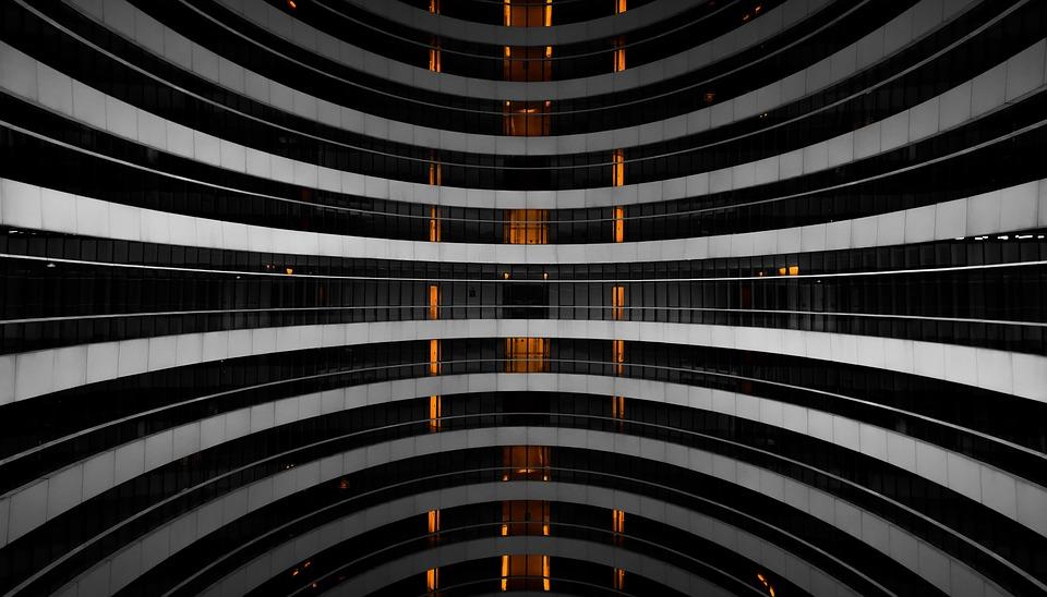 Building, Architecture, Galaxy Soho Building