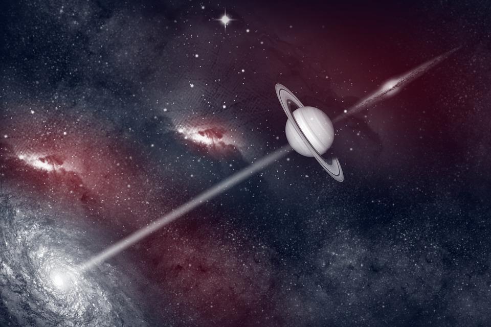 Planet, Galaxy, Space, Sun, Milky Way, Star