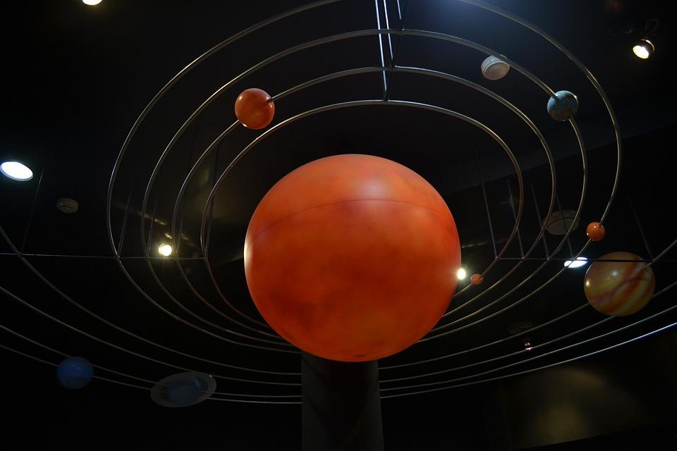 Space, Thailand, Museum, Model, Sun, Galaxy