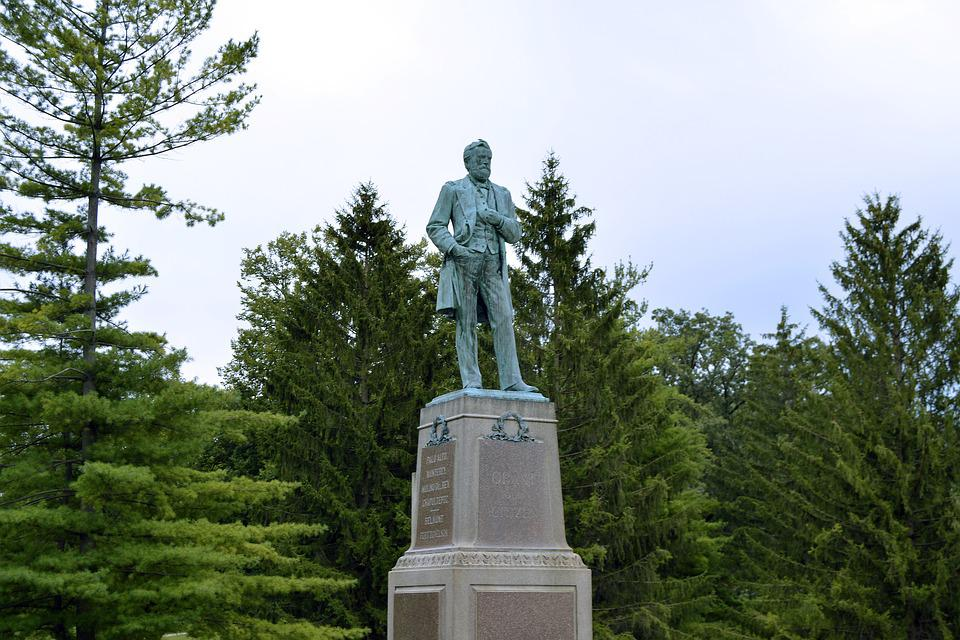 Ulysses S, Grant, Ulysses, Grant Park, Galena, Illinois