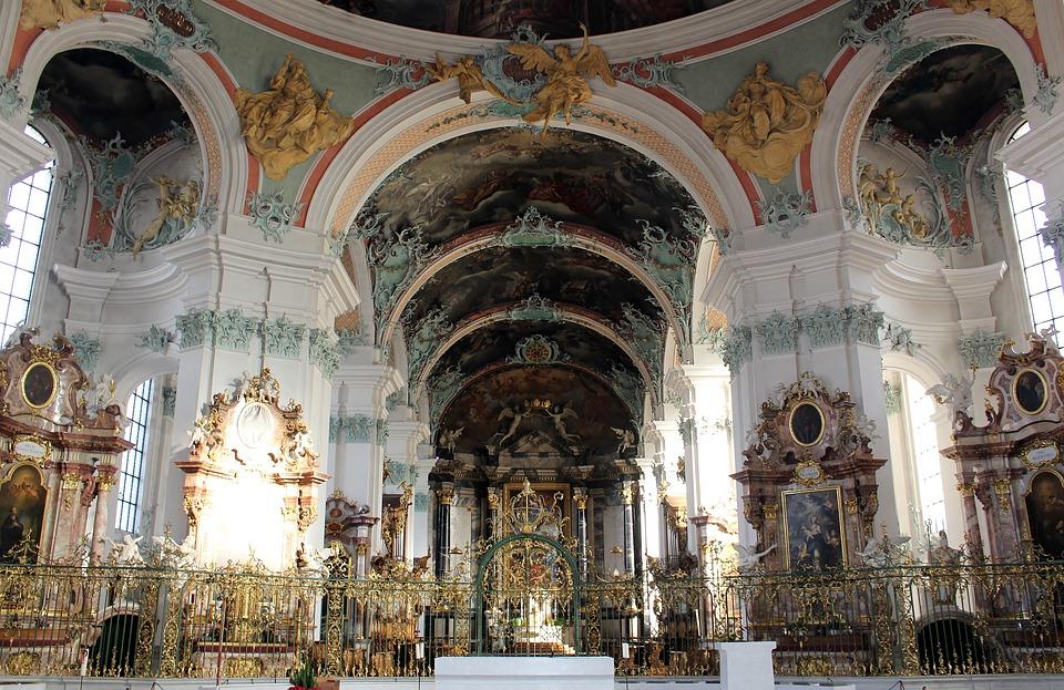 Gallen Cathedral St, Collegiate Church, Sanctuary