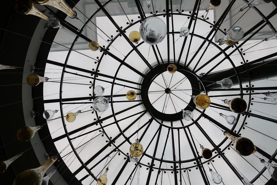 Paris, Gallery, Architecture, France, Art, Cupola
