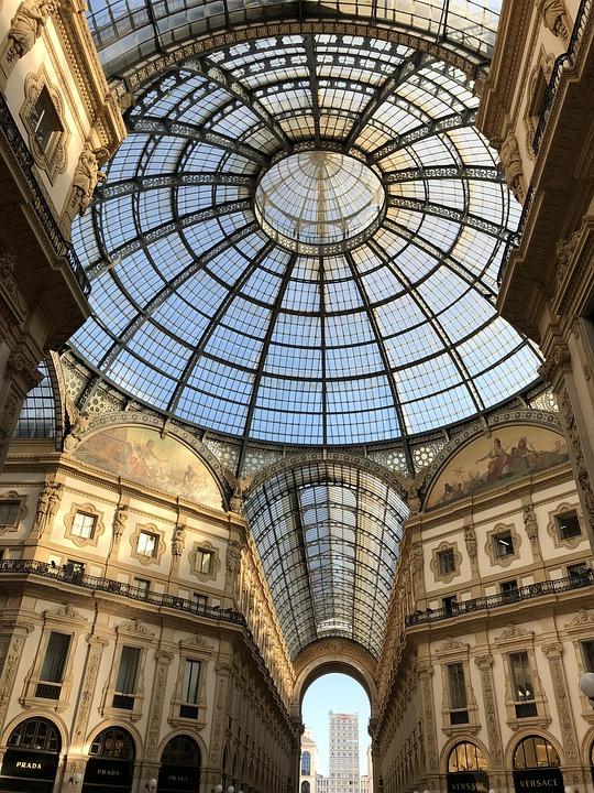 Milano, Shopping, Gallery