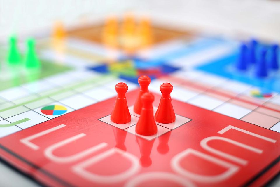 Gamble, Playful, Chance, Picture, Ludo, Game, Dice