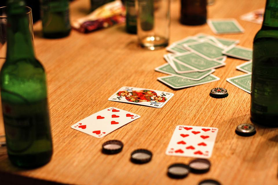 Card Game, Play, Playing Cards, Gambling, Alcohol