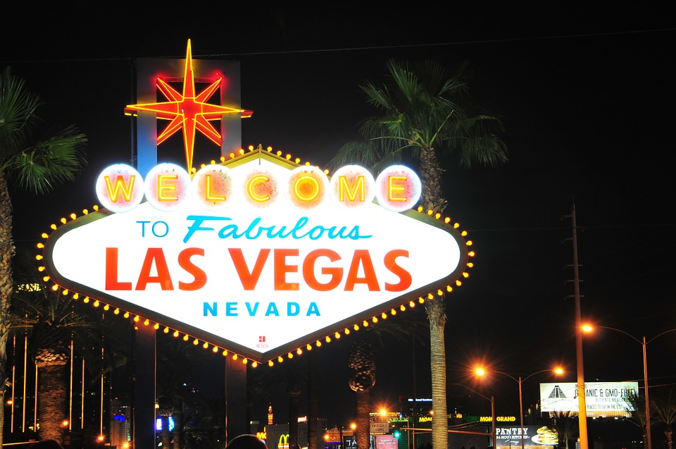 Nevada, Las Vegas, Las Vegas Sign, City, Neon, Gambling