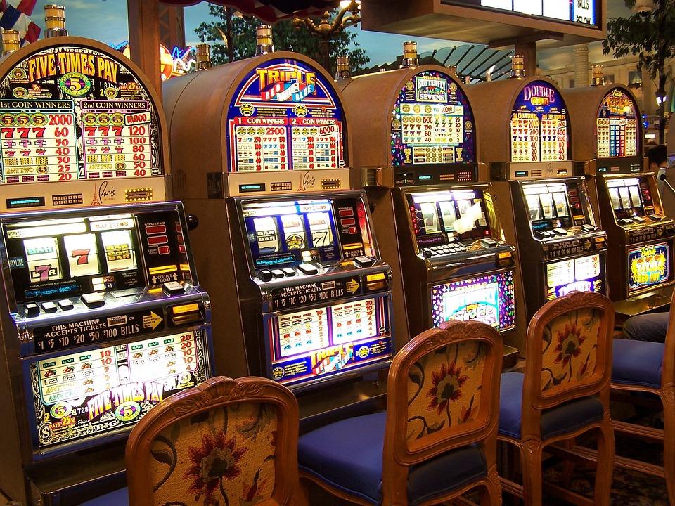 Casino, Slot Machine, Gambling, Entertainment, Vegas