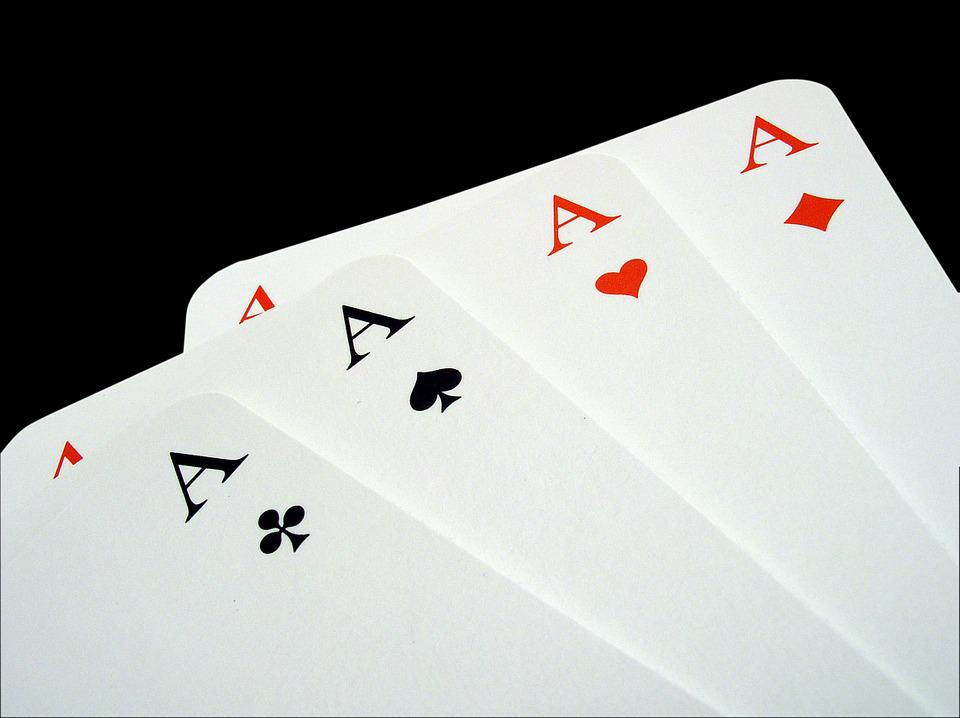 Aces, Poker, Gambling, Playing Cards, Play, Trumpf