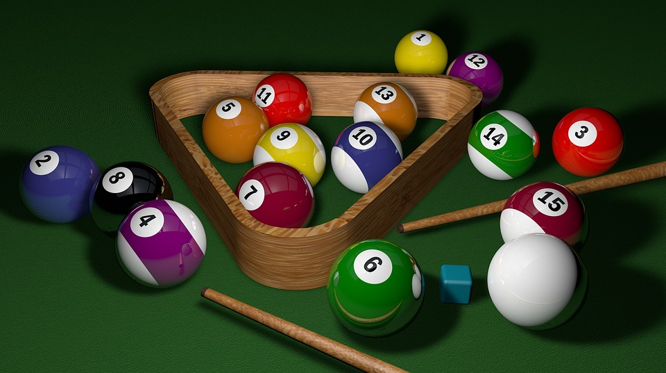 Billiards, Game, 3d