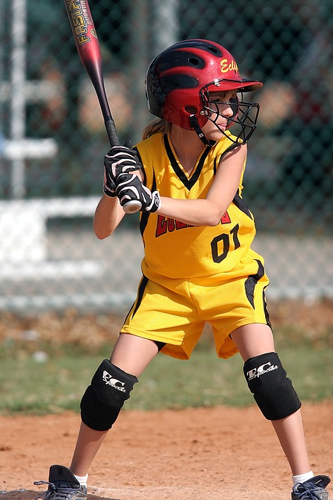 Softball, Batter, Female, Batter's Box, Game
