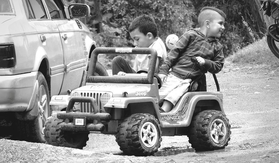 People, Black And White, Children, Game, Colombia