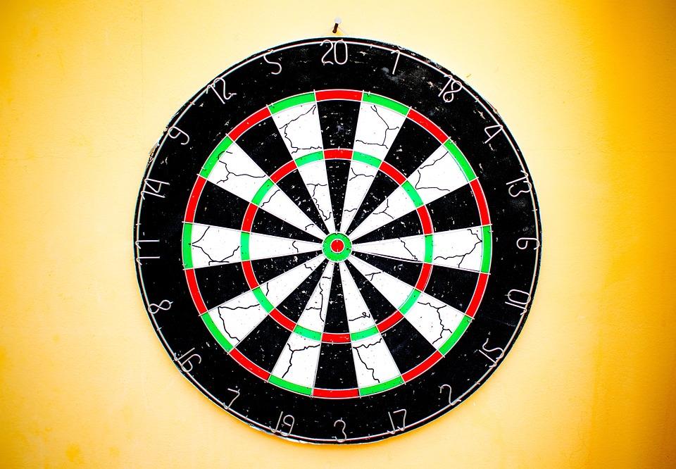 Dart, Round, Target, Dartboard, Game, Board, Circle