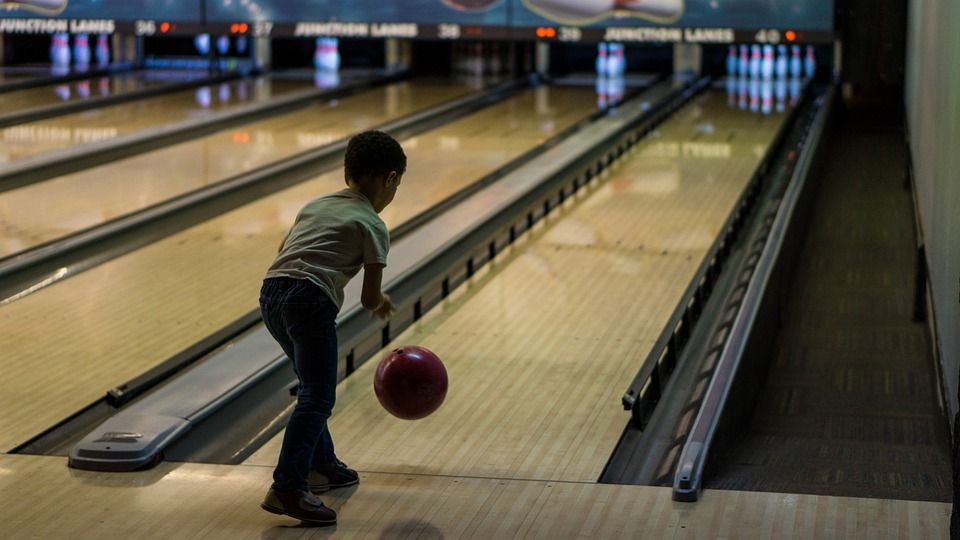 Bowling, Child, Game, Bumpers, Family, Children