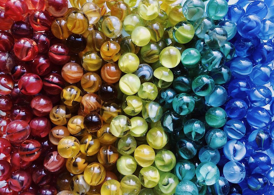 Free photo Game Colors Marbles Rainbow Glass - Max Pixel