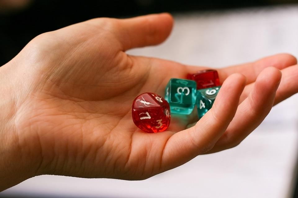 Dice, Hand, Game, Role-playing Game, Board Game