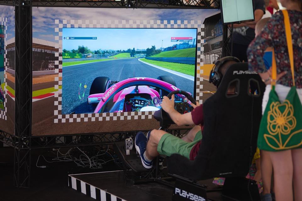 Simulator, F1, Formula 1, Game, Race, Competition