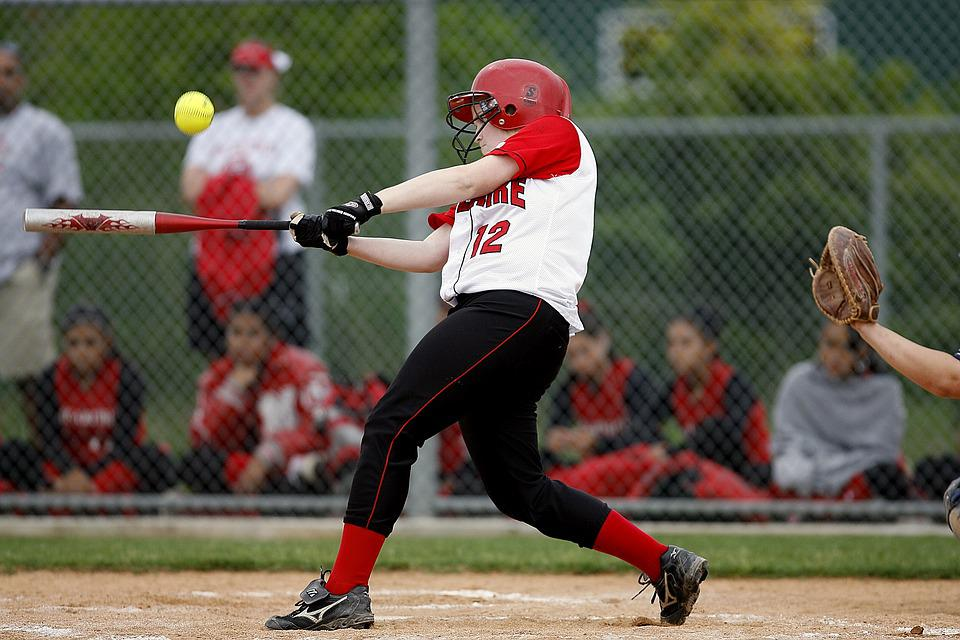 Softball, Batter, Female, Player, Game, Competition