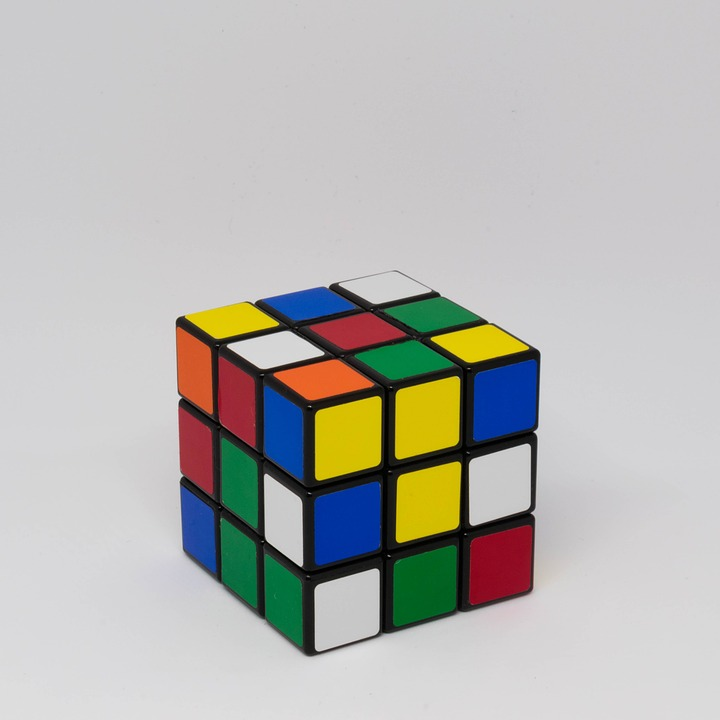 Rubiks Cube Puzzle Toy Game Intelligence Square
