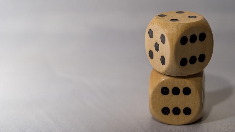 Dice, Macro, Game, Games, Roll, Die, Stack, Wooden, 6