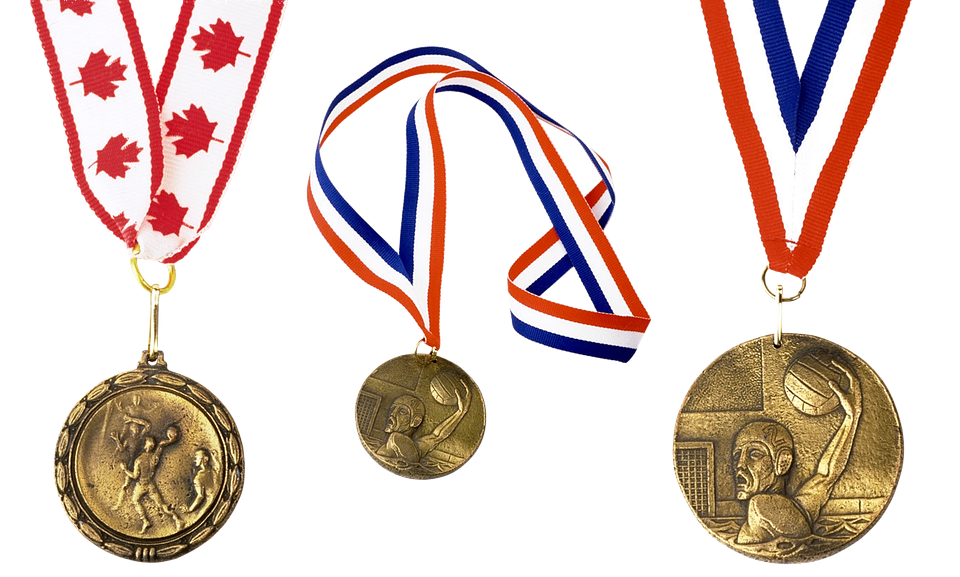 Medal, Volleyball, Victory, Sports, Game, Ball, Team