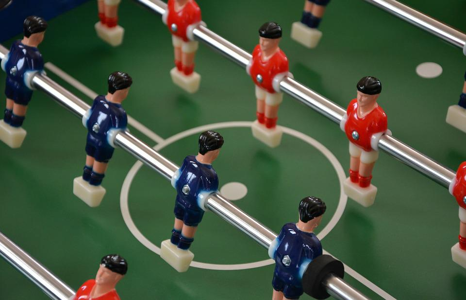 ποδοσφαιρακι, Football, Game, Children, Players