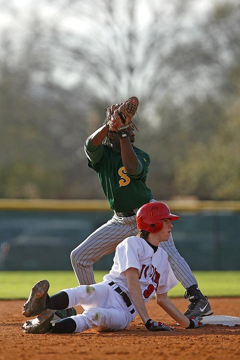 Baseball, High School, Game, Players, Baseball Players